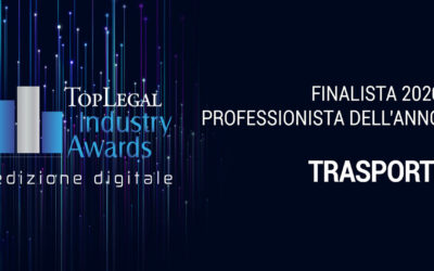 Transport, massimiliano grimaldi nominated finalist in the top legal industry awards 2020